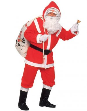 Kris Kringle - Komplett Jultomtekostym