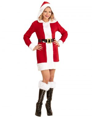 Miss Santa Tomtedräkt 2 Delar