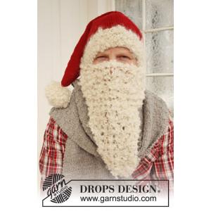 Mr. Kringle by DROPS Design - Tomteluva, Halsduk och Tomteskägg Stick-