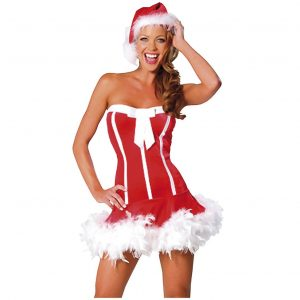 Sexy Santa Dress Maskeraddräkt